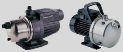 Насосы и насосные установки самовсасывающего типа для систем бытового водоснабжения